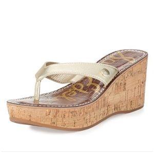 Gold Sam Edelman Sandals